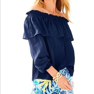 Lilly Pulitzer dee dee top